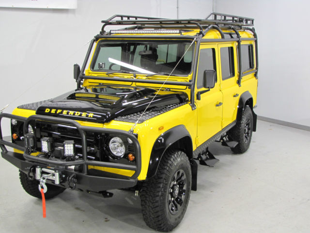 1989 defender 110 completely rebuilt roof rack brush. Black Bedroom Furniture Sets. Home Design Ideas