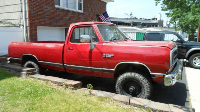 1989 dodge cummins turbo diesel 4x4 pickup first year for. Black Bedroom Furniture Sets. Home Design Ideas
