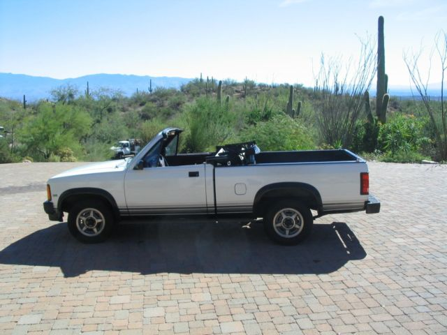 1989 Dodge Dakota DODGE DAKOTA CONVERTIBLE SPORT