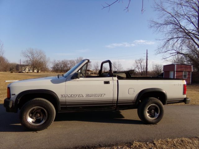 1989 dodge dakota convertible sport 4x4 pickup for sale photos. Black Bedroom Furniture Sets. Home Design Ideas
