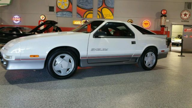Dodge Daytona Shelby Turbo K Miles Survivor on 1989 Dodge Daytona Interior
