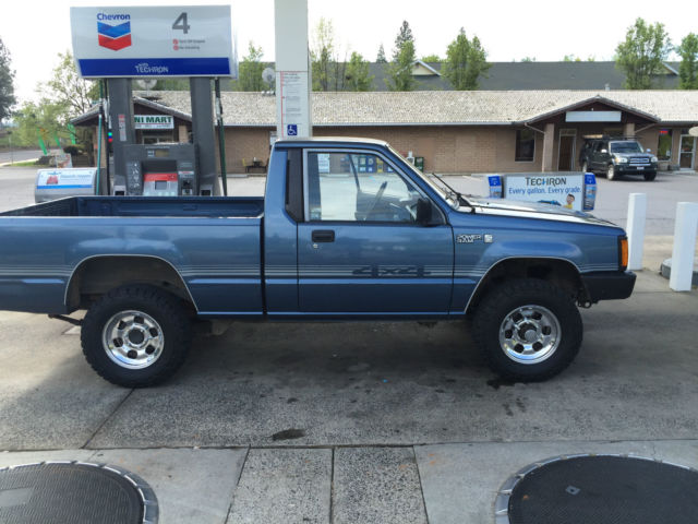 1989 Dodge Ram 50 4x4 2.6L 4 Cylinder 5 Sd Manual Transmission ...