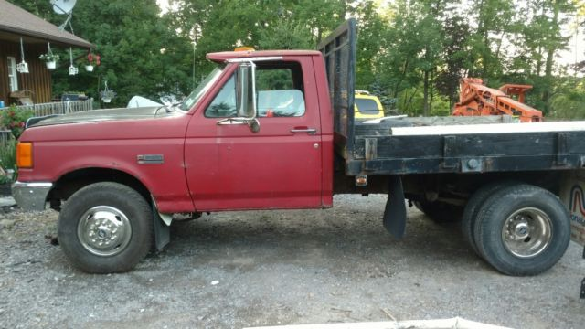 1989 f super duty f450 flat bed dually for sale photos technical specifications description