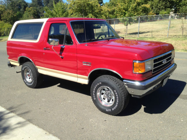 1989 FORD BRONCO 4X4 RUST FREE AND CLEAN for sale photos