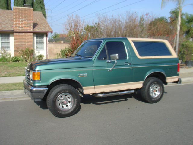 1989 ford bronco eddie bauer 1988 1987 1990 1991 1993 1994 1995 1996 for sale photos technical. Black Bedroom Furniture Sets. Home Design Ideas