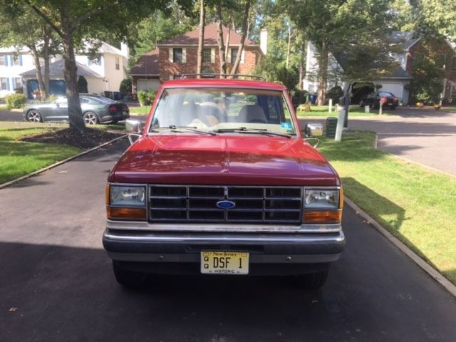 1989 Ford Bronco Eddie Bauer Edition