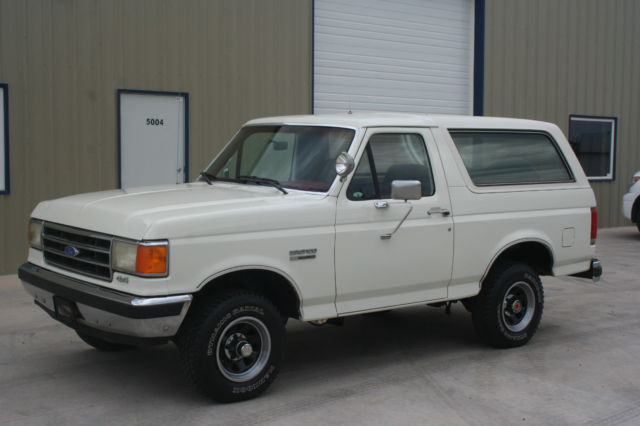 1989 Ford Bronco XLT 4X4. 42K. LOADED! MINT CONDITION!