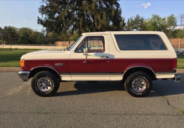 1989 ford bronco xlt 5 0 auto all original 100 rust free survivor for sale photos. Black Bedroom Furniture Sets. Home Design Ideas