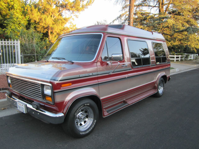 1989 Ford E-Series Van Conversion