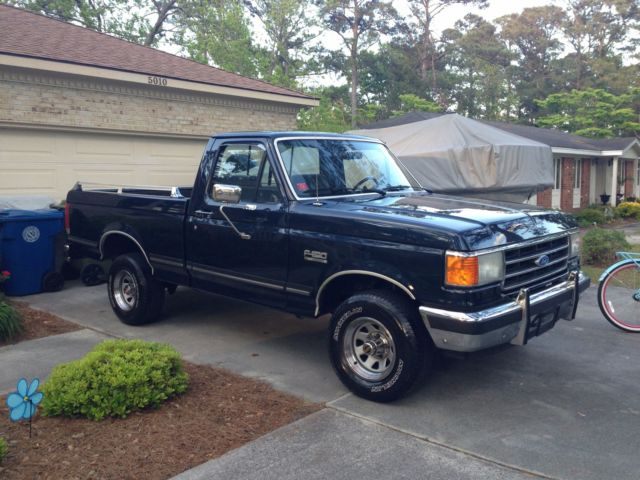 1989 ford f150 lariat 4x4 only 58 800 actual miles for sale photos technical specifications. Black Bedroom Furniture Sets. Home Design Ideas