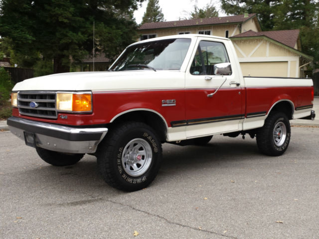 1989 Ford F-150 XLT LARIAT 4X4 SHORT BED FULLY LOADED GREAT TRUCK