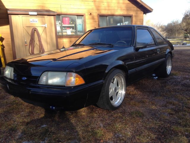 ford foxbody mustang turbo  stroker  sale