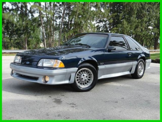 1989 ford mustang gt 5 0l v8 automatic 25th year. Black Bedroom Furniture Sets. Home Design Ideas
