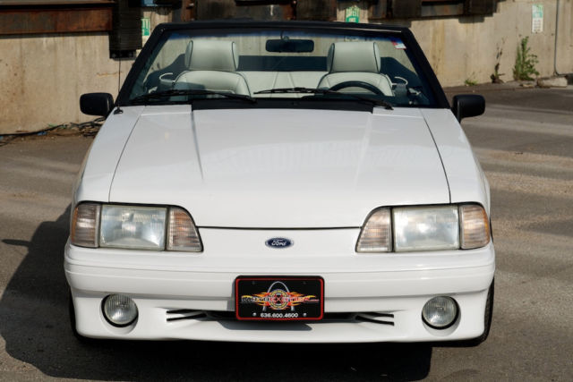 1989 Mustang Convertible Value