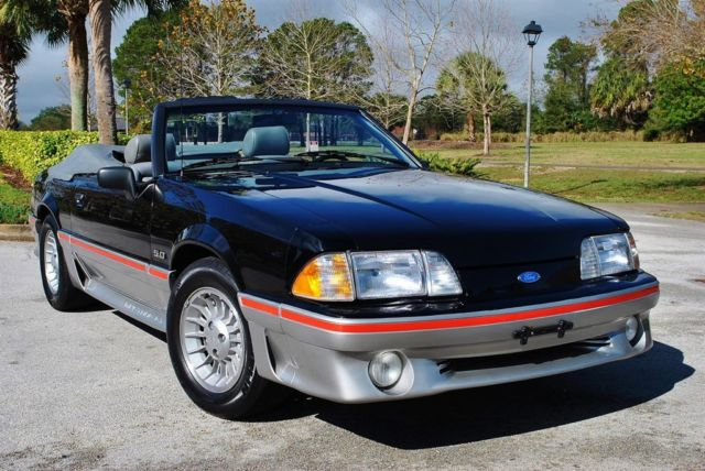 1989 Ford Mustang GT Convertible only 58k Miles 5.0 HO Sweet!