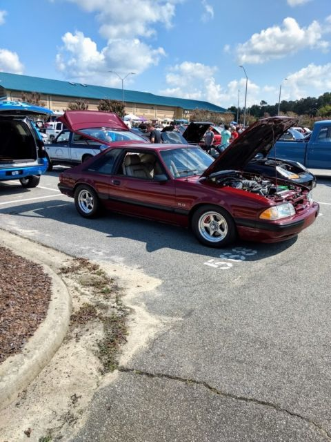 1989 Ford Mustang 5.0 LX 2014 MCA INDY EVENT SHOW WINNER