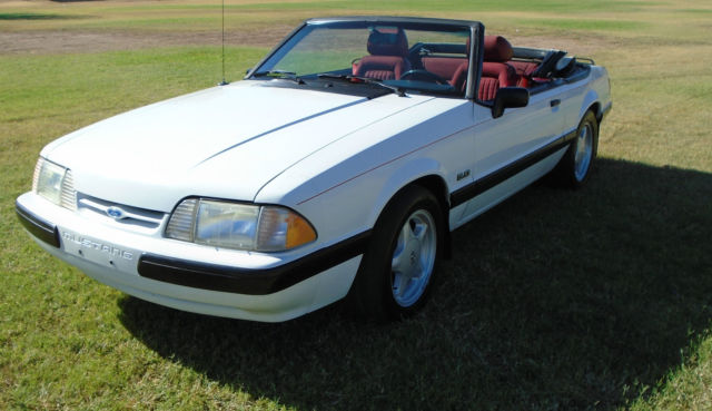 1989 Ford Mustang LX NOTCHBACK