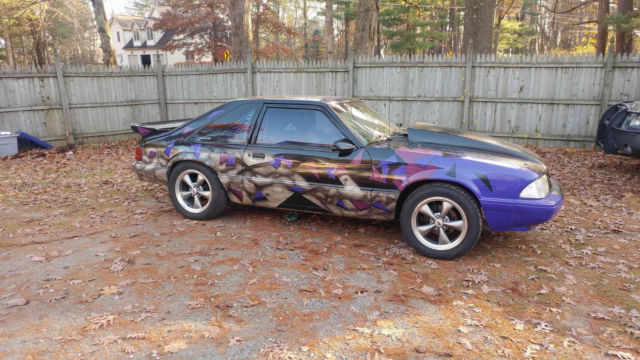 1989 Ford Mustang Street Legal Drag Car For Sale Photos Technical