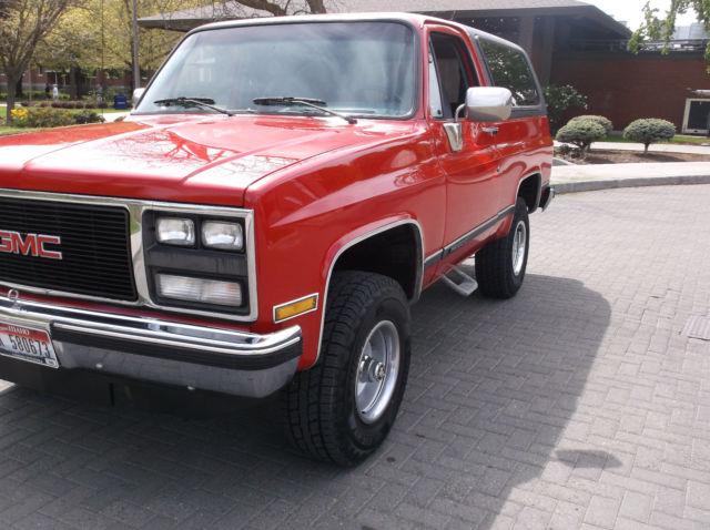 1989 GMC JIMMY K5 BLAZER 4X4 54 3a74518bf80
