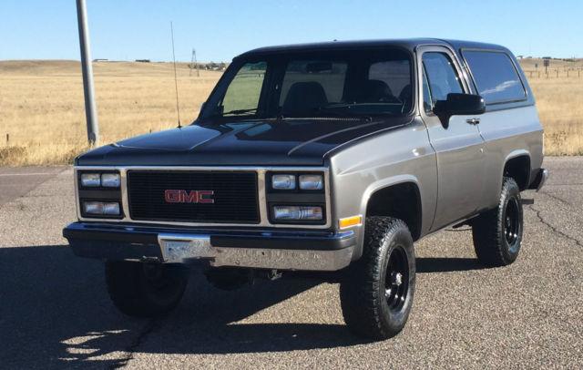 1989 Gmc Jimmy Squarebody Chevrolet K5 Blazer 4x4 99 Re New Motor Edelbrock