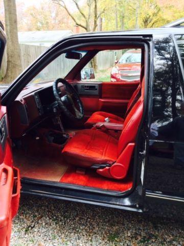 1989 GMC S15 Jimmy 4x4 2 Door SBC Ready Rust Free Project