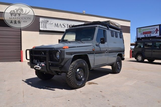 1989 gray g wagon camper g class 240gd for sale photos for Mercedes benz bay ridge