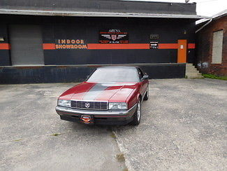 1989 Cadillac Allante OHIO STATE COLORS