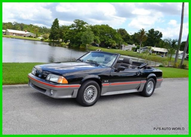 1989 Ford Mustang GT 2dr Convertible
