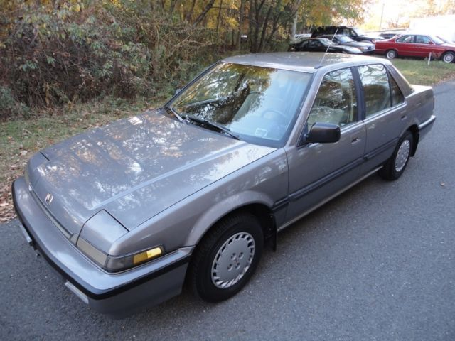 1989 Honda Accord 58k Original Mi, LX 5-speed
