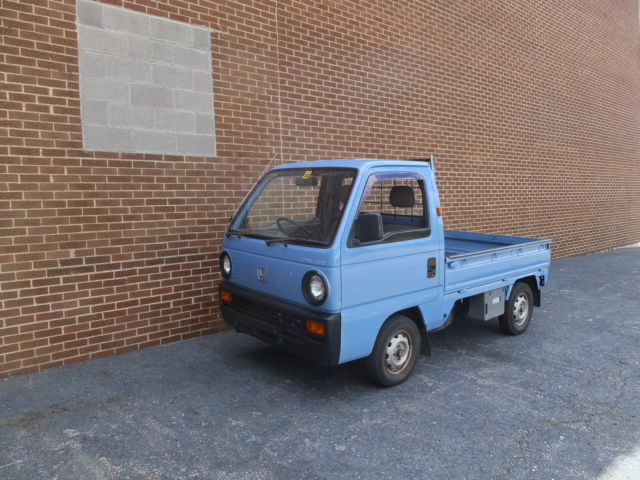 1989 Honda ACTY Attack 2wd Kei Truck Japan JDM Legal