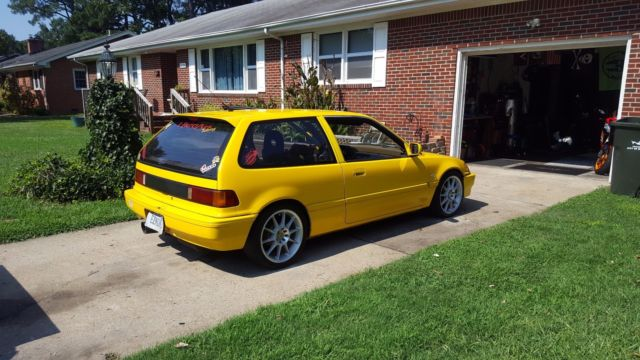 1989 honda civic hatchback dx