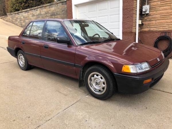 1989 Honda Civic DX Sedan 4-Door