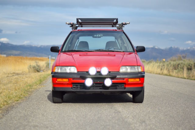 1989 Honda Civic RT4WD