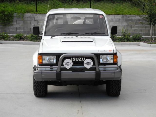 1989 Isuzu Bighorn Irmscher R Trooper Jdm Rhd 4wd Turbo Diesel For