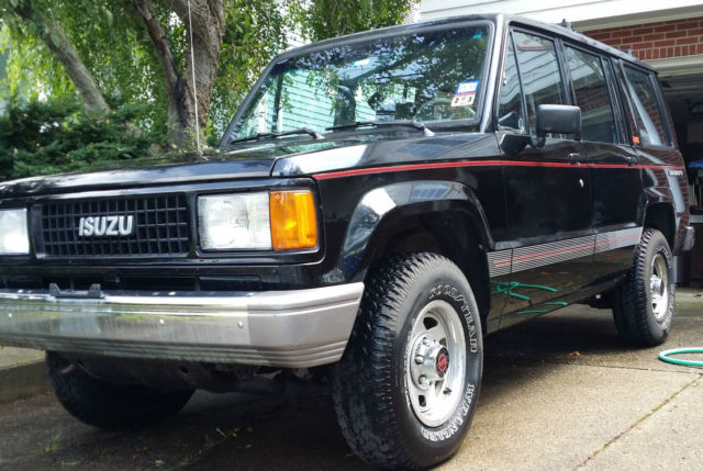 1989 Isuzu Trooper Extra Low Miles For Sale Photos Technical
