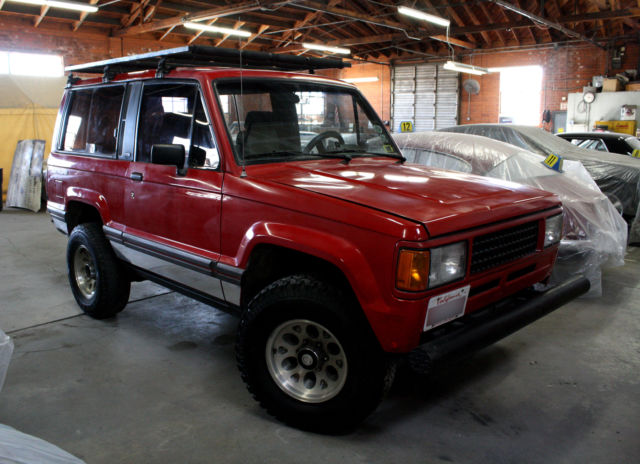 1989 Isuzu Trooper Rs Sport Utility 2 Dr Swb No Reserve For Sale