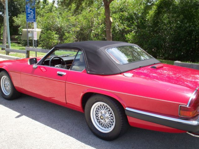 1989 Jaguar XJS TOP OF LINE