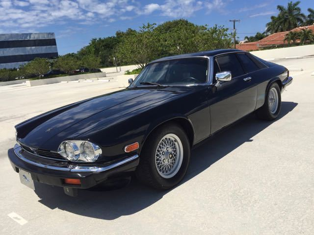 1989 jaguar xjs v12 coupe low miles clean autocheck garage. Black Bedroom Furniture Sets. Home Design Ideas
