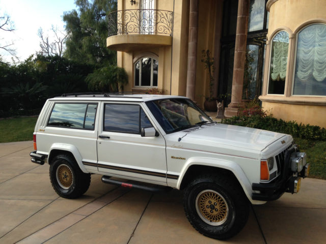 1989 Jeep Cherokee Xj Limited Sport 2 Door 4 0l Automatic