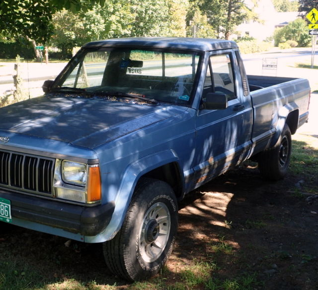1989 jeep comanche 4x4 pick up truck 7 1 2 bed tons of. Black Bedroom Furniture Sets. Home Design Ideas