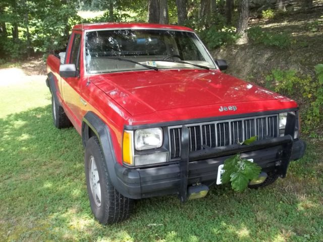 1989 Jeep Comanche pick-up