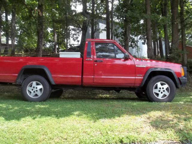 1989 jeep comanche 4x4 with ac and 7 ft long bed for sale. Black Bedroom Furniture Sets. Home Design Ideas