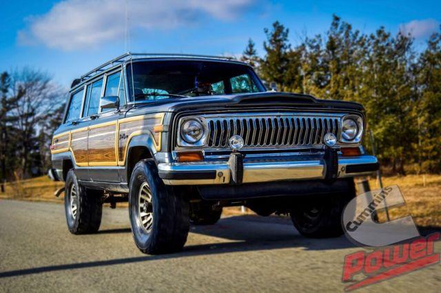 1989 Jeep Grand Wagoneer 3 9l 4bt Cummins Powered For Sale