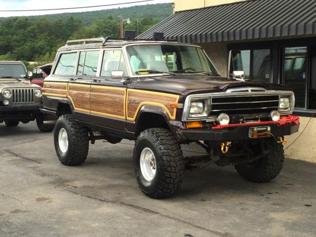 Jeep Grand Wagoneer >> 1989 Jeep Grand Wagoneer 4x4 off-road lifted Nice!! Custom ...