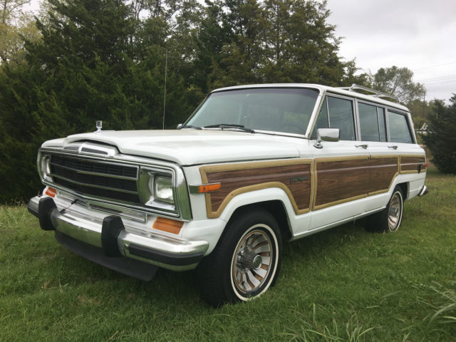 1989 Jeep Wagoneer Base Sport Utility 4-Door