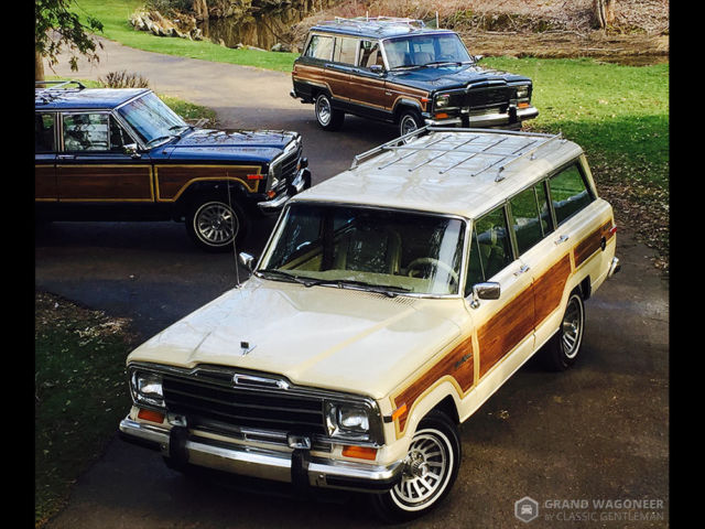 1989 Jeep Wagoneer Grand Wagoneer by Classic Gentleman