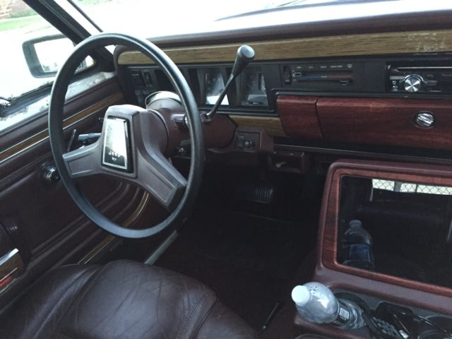 1989 Jeep Wagoneer Limited Sport Utility 4 Door 4 0l For