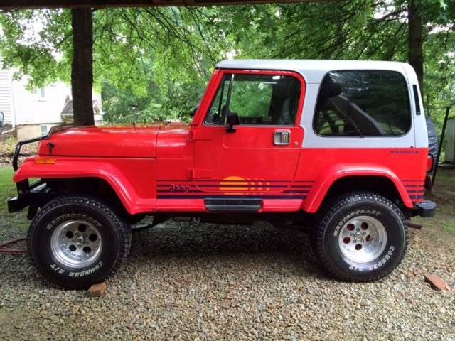 1989 jeep wrangler islander sport utility 2 door 360 amc. Black Bedroom Furniture Sets. Home Design Ideas
