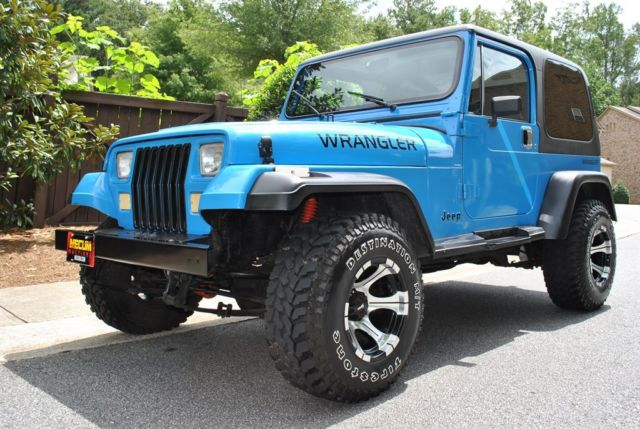 1989 Jeep Wrangler Islander V8 Conversion