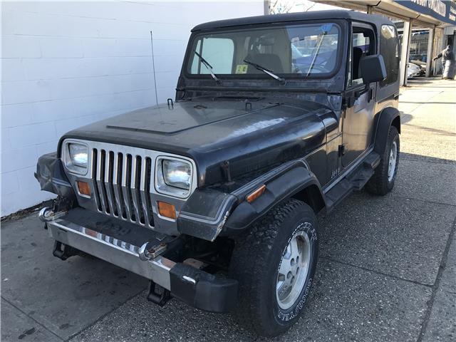 1989 Jeep Wrangler Laredo 99,999 Miles black suv Straight 6